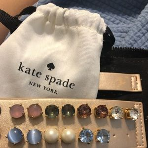 A collection of Kate Spade earrings!!